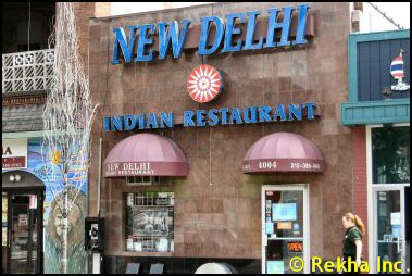 Philadelphia Pa 19106 New Delhi Indian Restaurant