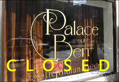 Palace at the Ben Philadelphia Review Chestnut St- Royal Indian Treat ...