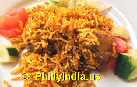 Biryani in Philadelphia image © PhillyIndia.us