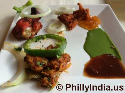Philadelphia Indian Buffet Appetizers © PhillyIndia.us