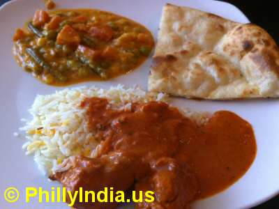 Philadelphia Indian Buffet Entrees © PhillyIndia.us