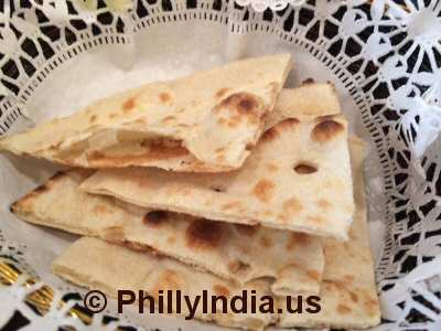 Philadelphia Indian Buffet Bread © PhillyIndia.us