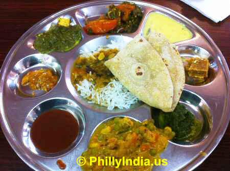 Indian Vegetarian Tiffin in Philadelphia image © PhillyIndia.us