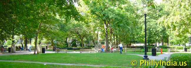 Philadelphia Ritten House Square Park - © phillyindia.us.