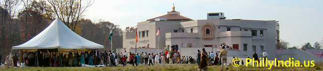 Philadelphia Vraj Hindu Temple - © phillyindia.us.